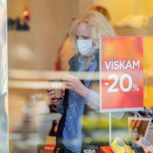 Vyriausybė persigalvojo: parduotuvių atverti nesiryžta