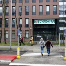 Incidentas Klaipėdos policijos komisariate: sulaikytasis bandė susižaloti