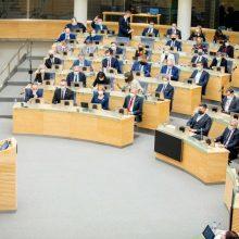 Mokslininkų tyrimas: Seimas apie žmogaus teises kalba daugiau nei apie pandemiją