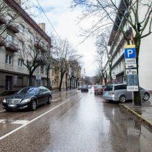 Incidentas A. Mickevičiaus gatvėje: iš taksi automobilio išlipęs girtas vyras padegė šaudmenis