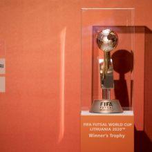 Startuoja išankstinių bilietų prekyba į FIFA pasaulio salės futbolo čempionatą