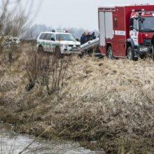 Upelyje Varėnos rajone rastas vyro kūnas