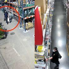 Klaipėdos pareigūnai turi klausimų nuotraukose užfiksuotam vyrui <span style=color:red;>(gal atpažįstate?)</span>