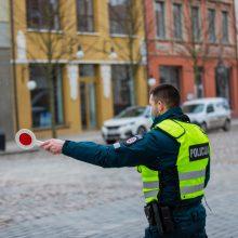 Reidas Klaipėdos apskrityje: savaitgalį įkliuvo penki neblaivūs vairuotojai