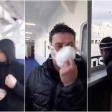 Žmonės baiminasi keltais grįžtančių lietuvių: vaizdo įrašuose šaiposi iš koronaviruso