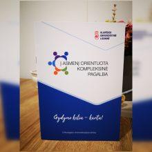 KUL pristato leidinį onkologiniams pacientams