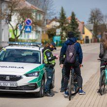 Klaipėdos apskrityje – sustiprintas policijos pareigūnų dėmesys eismo dviračiais ir paspirtukais