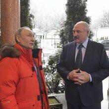 A. Lukašenkos derybose su V. Putinu vėl nieko esminio nepasiekta?