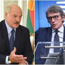 EP vadovas paragino A. Lukašenką nutraukti smurtą prieš protestuotojus