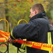 Vilniuje, atliekant kasimo darbus, rastas sprogmuo