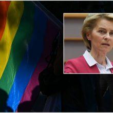 EK vadovė: zonoms be LGBT mūsų Sąjungoje nėra vietos