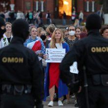 Apžvalgininkai: Lietuvos parama nukentėjusiems baltarusiams atrodo veidmainiška