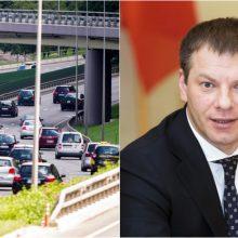 Finansų ministras: dėl taršių automobilių reikia taikyti ne tik mokesčius