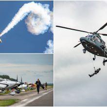 Nidoje – aviacijos šventė: netrūko įspūdingų pasirodymų ir žiūrovų