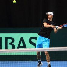 L. Mugevičius baigia tenisininko karjerą ir renkasi trenerio kelią