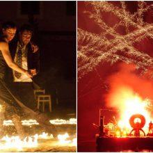 Gatvės teatrų festivalyje – ugningas prancūziškas desantas
