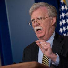 JAV saugumo patarėjas ruošiasi deryboms su Rusija dėl branduolinės sutarties