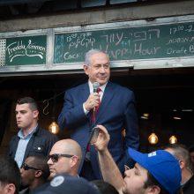Izraelyje prasideda balsavimas premjero B. Netanyahu ateitį lemsiančiuose rinkimuose