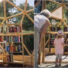 Iki kitų metų su vilniečiais atsisveikina Bernardinų sodo vasaros skaitykla