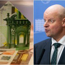 S. Skvernelis bankų retoriką vadina apgailėtina: naujas mokestis įsigalios kitąmet?