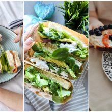 Patiks išrankiausiems: smagios sumuštinių idėjos vaikams <span style=color:red;>(receptai)</span>
