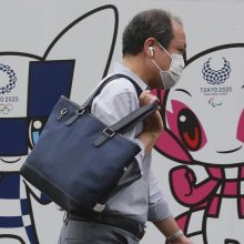 Tokijo žaidynių organizatoriai pristatė olimpinį kaimelį su karščiavimo klinika