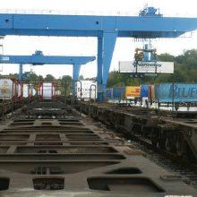 Regione pranašaujamas Lenkijos uostų šuolis