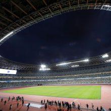 """Tokijo olimpiados organizatoriai: šių metų žaidynių šūkis – """"Mus vienija emocijos"""""""