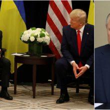 V. Putinas: D. Trumpo ir V. Zelenskio pokalbyje neįžvelgiu nieko kompromituojančio