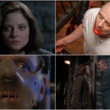 """Nepraleiskite: siaubą žadinantis """"Avinėlių tylėjimas"""" kino ekrane Helovino vakarą"""