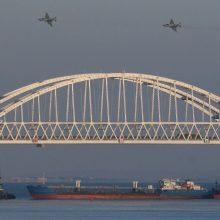 Tarptautinis tribunolas svarstys Ukrainos ieškinį dėl incidento Kerčės sąsiauryje