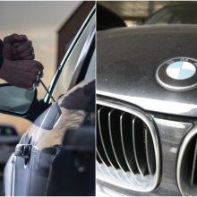 Telšių rajone pavogtas BMW: nuostolis – 11,5 tūkst. eurų