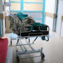 Panevėžio ligoninėje atsidūrė nenustatytu aštriu daiktu sužalotas vaikinas