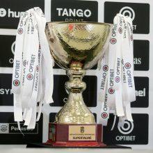 Dėl COVID-19 atvejų nukeliamos Lietuvos futbolo Supertaurės rungtynės