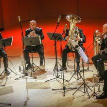 Klaipėdos brass kvintetas – su nauja jėga