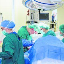 Klaipėdos universitetinės ligoninės chirurgai išoperavo retos kilmės 13 kg auglį