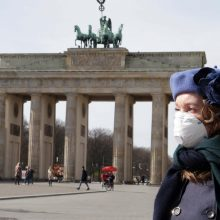 Vokietijoje – didžiausias nuo balandžio naujų COVID-19 atvejų skaičius