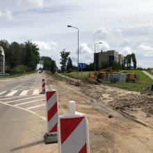 Darbai Tauralaukyje: atnaujintas eismas
