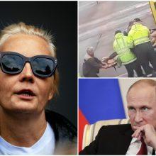 A. Navalno žmona kreipėsi į V. Putiną