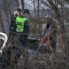 Šiurpu: miškelyje prie Klaipėdos ligoninės rastas miręs vyras