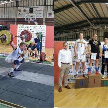 Lietuvos sunkiosios atletikos čempionate – rekordų lietus