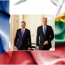 Šalies vadovai sveikina Suomiją nepriklausomybės metinių proga