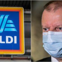 """S. Skvernelis apie """"Aldi"""" Lietuvoje: tai buvo vienas prekybos tinklų, kuriam siunčiau laišką"""