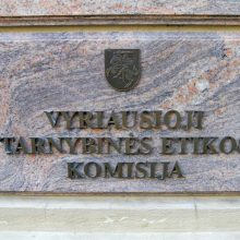 VTEK tirs informaciją dėl 15 asmenų galbūt neteisėtai vykdyto lobizmo