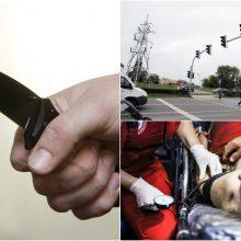 Klaipėdoje sunkiai peiliu sužalotas vyras: įtariamasis sulaikytas
