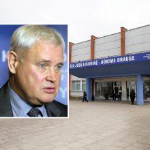 V. Grubliauskas apie situaciją Klaipėdoje: liko vos 4-5 laisvos palatos