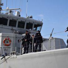 NATO flotilė užsuko į Klaipėdą