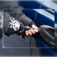 Vagį Taikos prospekte sulaikė pats automobilio savininkas