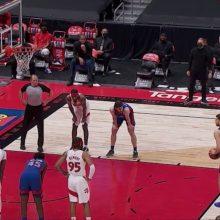 Atsidarė: D. Sirvydis NBA pelnė pirmąjį tašką
