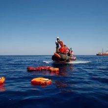 Prie Ispanijos krantų išgelbėta beveik 220 migrantų